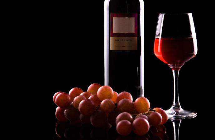 Un vaso de vino y la enfermedad de las encías