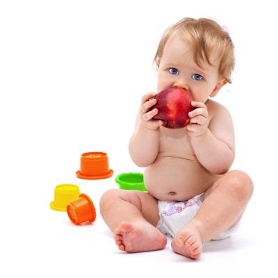 Las molestias de la primera dentición en los bebés